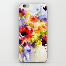 Floral Art iPhone Skin