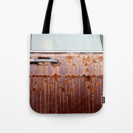 Rusted Jalopy Tote Bag