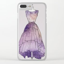 The Dress of my Dreams Clear iPhone Case