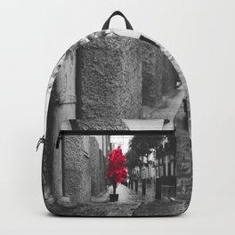 Christmas landscape Backpack