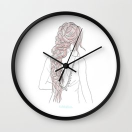 ROSEBRAID Wall Clock