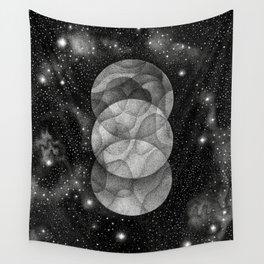 Three Moons Wall Tapestry