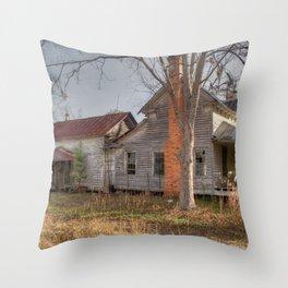Forgotten Farmhouse Throw Pillow
