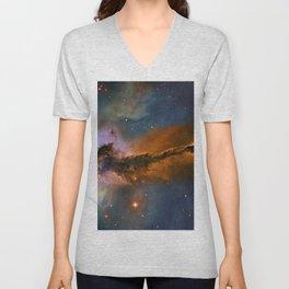 Stellar Spire in the Eagle Nebula Unisex V-Neck