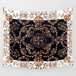 Pencil shavings VII Wall Tapestry