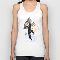 avatar Tank Tops featuring The Avatar by Toronto Sol
