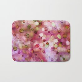 Cryptic fancy light in vibrant colors Bath Mat