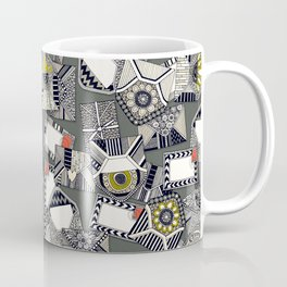 mail scatter graphite Coffee Mug