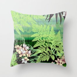 Cool Tranquility Throw Pillow