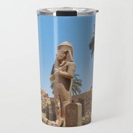 Colossal Statue of Ramses II, Luxor, Egypt Travel Mug
