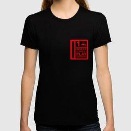 Insert Coffee - Neon Red T-shirt