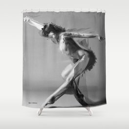 Dance Move Shower Curtain