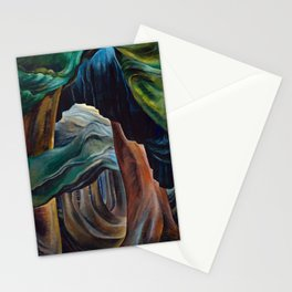 Emily Carr - Forest, British Columbia - Canada, Canadian Oil Painting - Group of Seven Stationery Cards