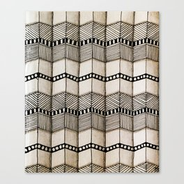 Systematic Waves Canvas Print