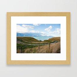 Road from Kaikoura Framed Art Print
