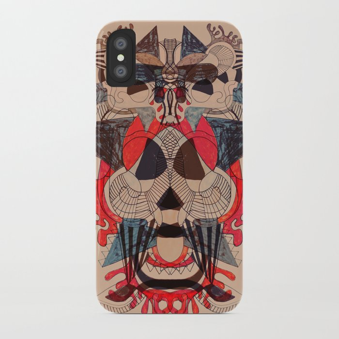 illustrated dreams iPhone Case