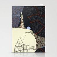kaiju Stationery Cards featuring kaiju by thefleafarm (Amy Wright)