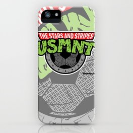 USMNT -- A FEARSOME SOCCER TEAM iPhone Case