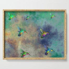 Secret Escape Hummingbird Design Serving Tray