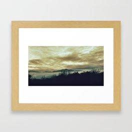Cathedral Hills, Oregon  Framed Art Print