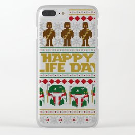 happy life day Clear iPhone Case