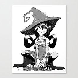 Tsuyu Asui Witch Canvas Print