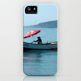 One Man and His Boat iPhone Case