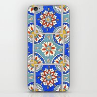 italian iPhone & iPod Skins featuring Italian Tiles by PeriwinklePeacoat