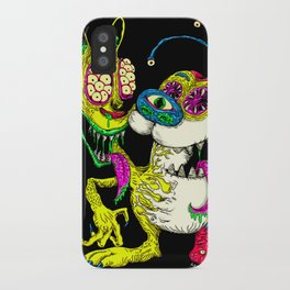 Monster Friends iPhone Case