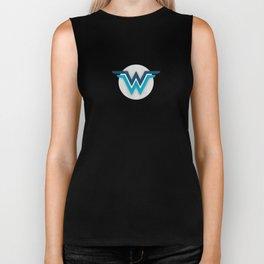 Wonder Widows Logo Biker Tank
