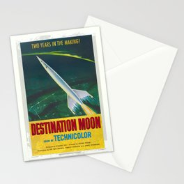 Destination Moon Stationery Cards