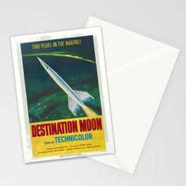 Destination Moon Stationery Cards