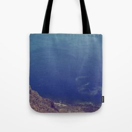 Sea green, ocean blue Tote Bag