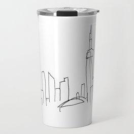 I Dream Of A Different Skyline Travel Mug