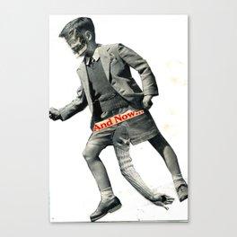 Schoolboy/Devil Canvas Print