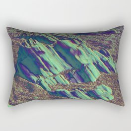 coastal pastel Rectangular Pillow