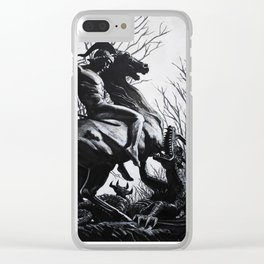 Saint George Clear iPhone Case