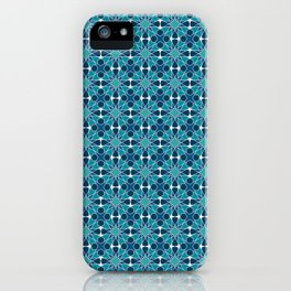 Arabic mosaic ornament iPhone Case