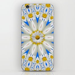 Daisy Chain Kaleidoscope A151 iPhone Skin