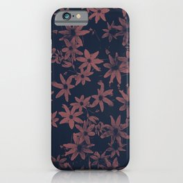 Flowers at Dawn iPhone Case