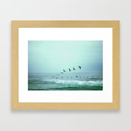 Aerodynamics Framed Art Print