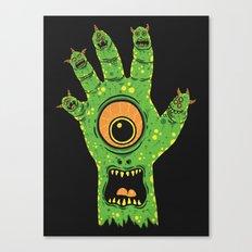 Finger Monsters Canvas Print