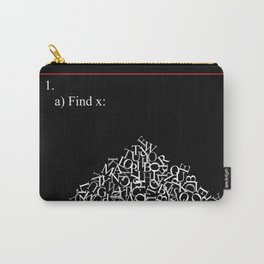 Math Problem Carry-All Pouch