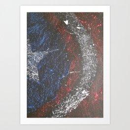 Cap. 'Merica Art Print