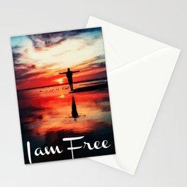I am Free Stationery Cards