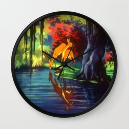 OLD GROWTH FOREST Wall Clock