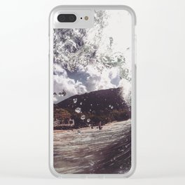 Scientist Clear iPhone Case