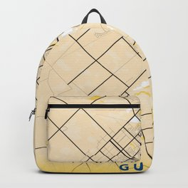 Guelph Yellow City Map Backpack