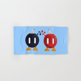 Bomb-Omb Love Hand & Bath Towel