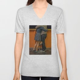 Puppy Love. S.I. Ferry Unisex V-Neck